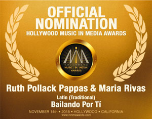 Ruth Pollack Pappas-Latin (Traditional) 2018 HMMA Nomination