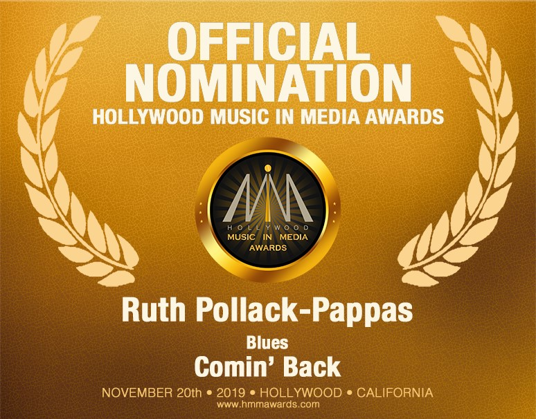 Ruth Pollack Pappas Blues Song 2019 HMMA Nomination